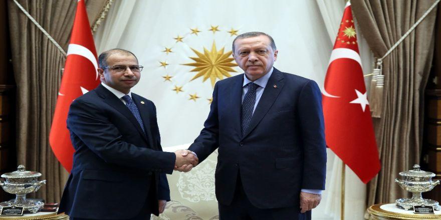 Irak Temsilciler Meclisi Başkanını Kabul Etti