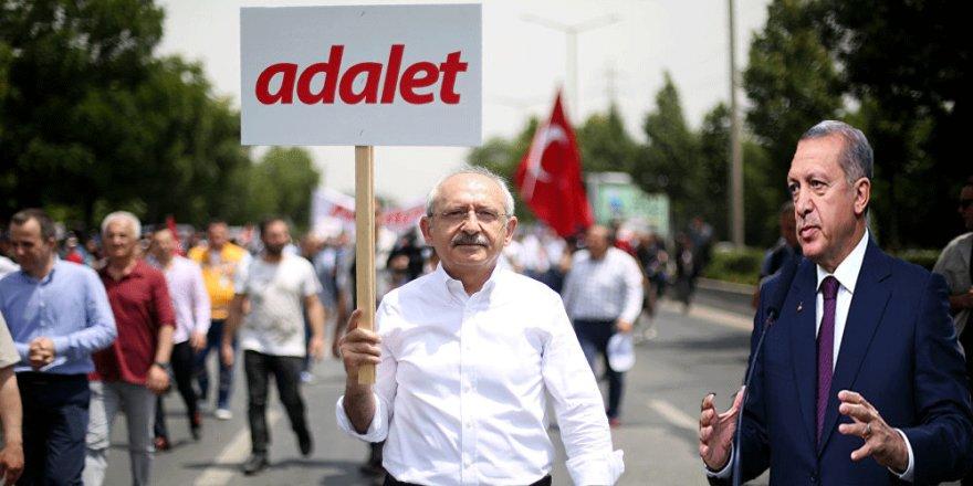 """Cumhurbaşkanı Erdoğan'dan Kılıçdaroğlu'nun """"Adalet Yürüyüşü"""" İçin İlk Yorum"""