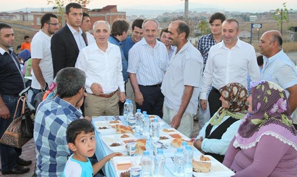 Çayırova'da 9. iftar programı!