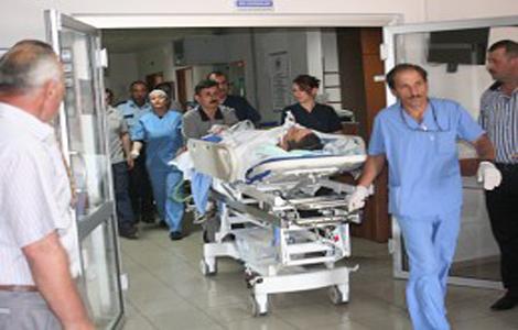 Fabrika işçileri hastanelik oldu!