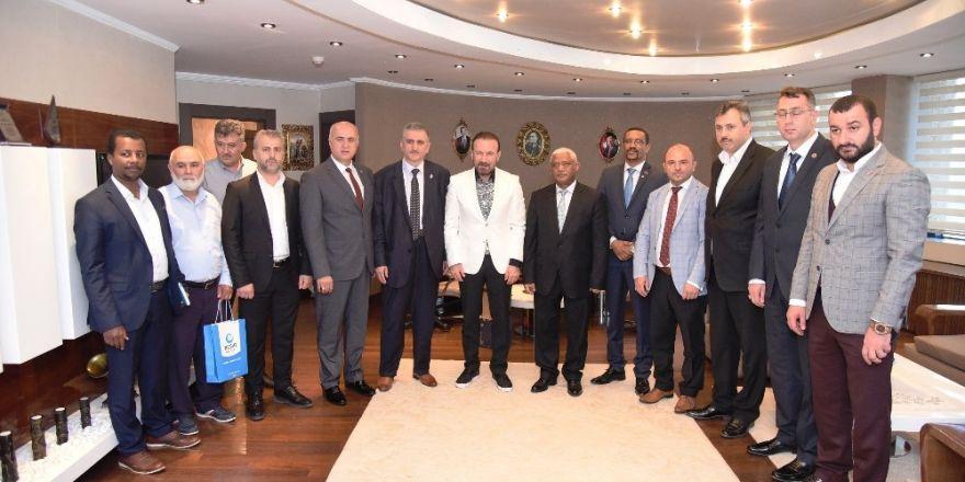 Etiyopya Büyükelçisi Başkan Doğan'ı Ziyaret Etti