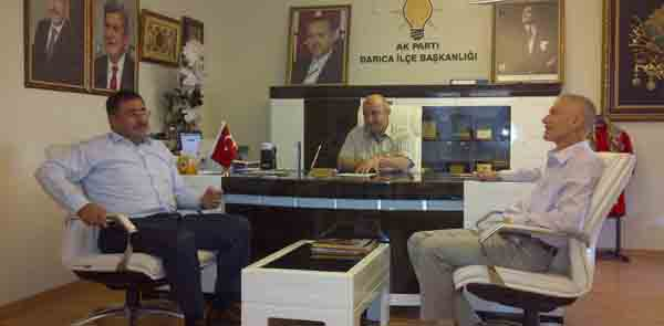 Okur AKP'li Başkan'ı ziyaret etti!