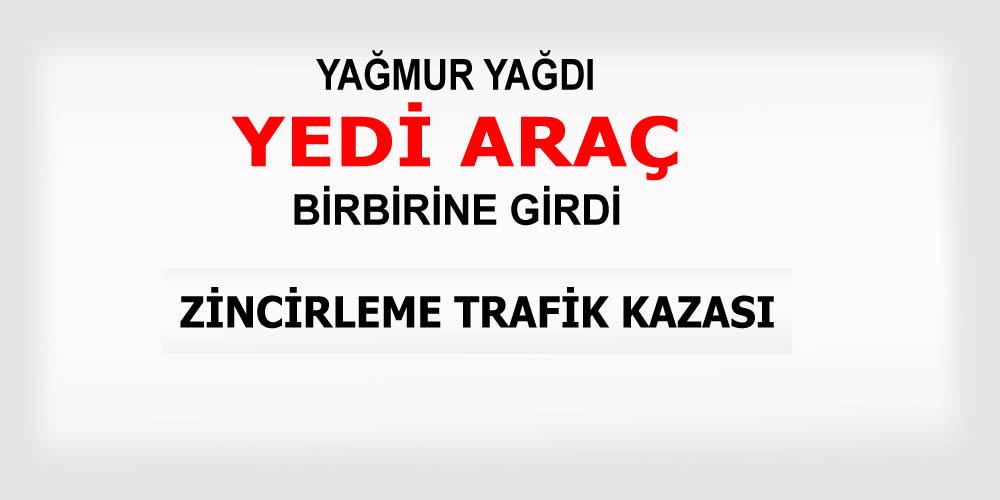 Kocaeli'nde zincirleme trafik kazası!