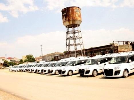 Büyükşehir'e 150 yeni araç!