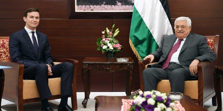 Mahmud Abbas, Trump'ın damadını kabul etti