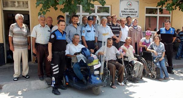 Tekerlekli sandalye dağıtım töreni yapıldı!