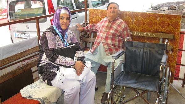 Belediye engelli aileyi sevindirdi!