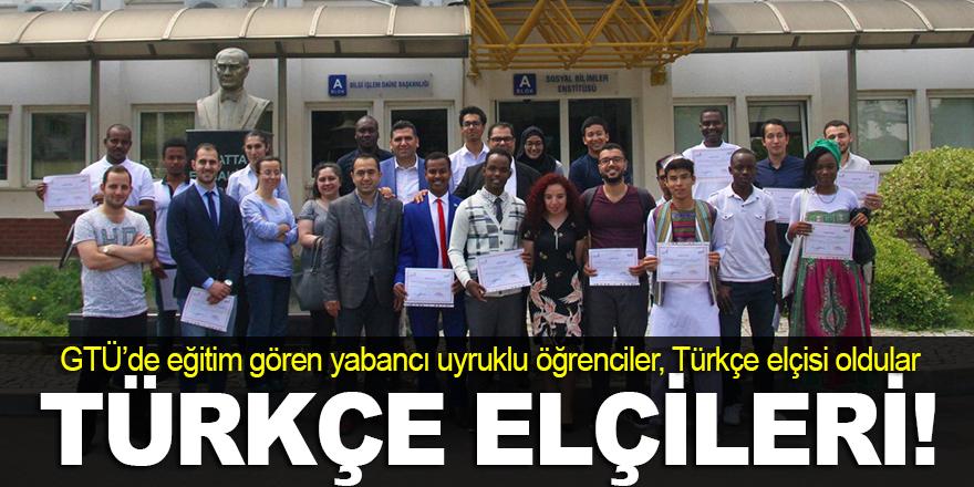 Türkçe elçisi oldular