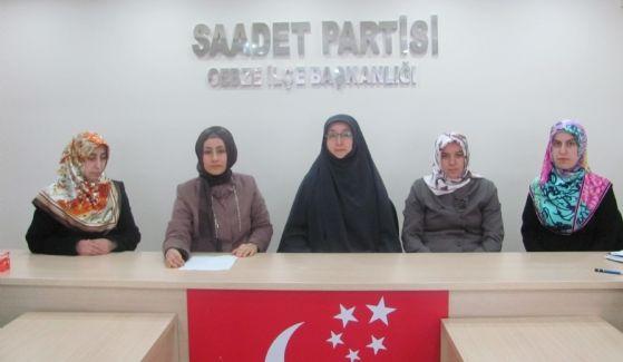 SP'li kadınlardan Arakan katliamına tepki!