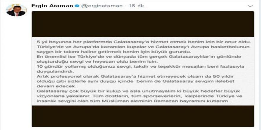 Ergin Ataman: Büyük Hedefler Büyük Vizyonlarla Yakalanır