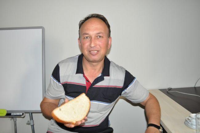 Sahur ekmeğinden bilye çıktı!
