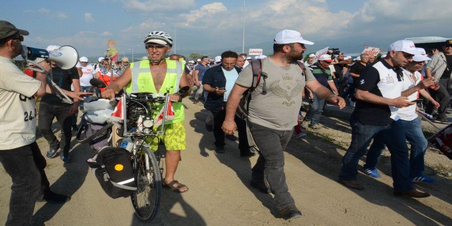 Kılıçdaroğlu, Yürüyüşünün 10. Gününü Tamamladı