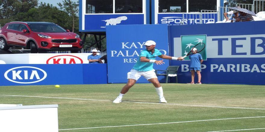 Marsel İlhan, Antalya Open'da İkinci Turda