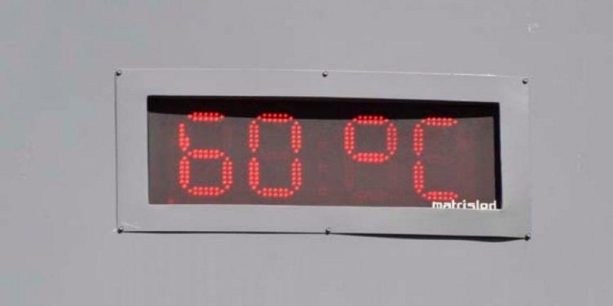 Termometreler 60 dereceyi gösterdi!