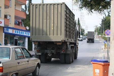 Onlarca askeri araç harekete geçti!