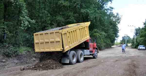 Panayır yoluna asfalt!