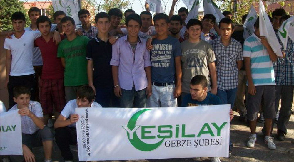 250 Yeşilaycı genç seyyah projesi kapsamında geziye gitti