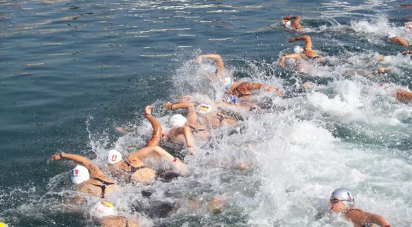 Yüzme şanpiyonası Kocaeli'de başladı