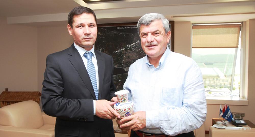 Adana'ya atanan SGK İl Müdürü'nden Başkana veda ziyareti