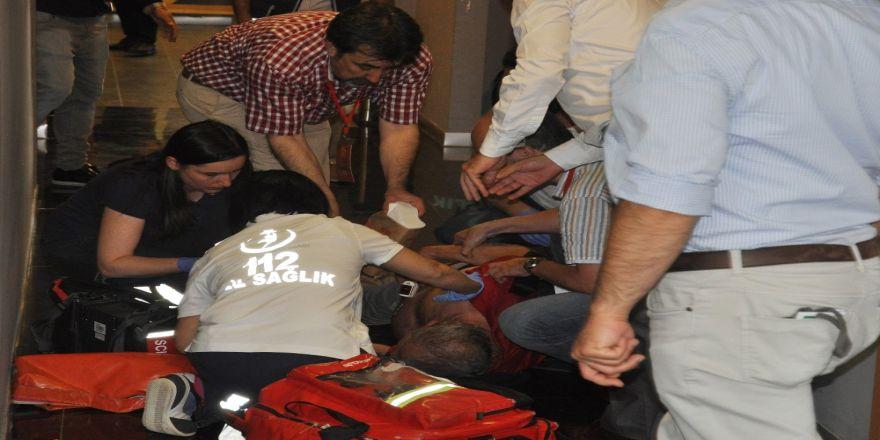 Eskişehirspor Kongresinde Kalp Krizi Şoku