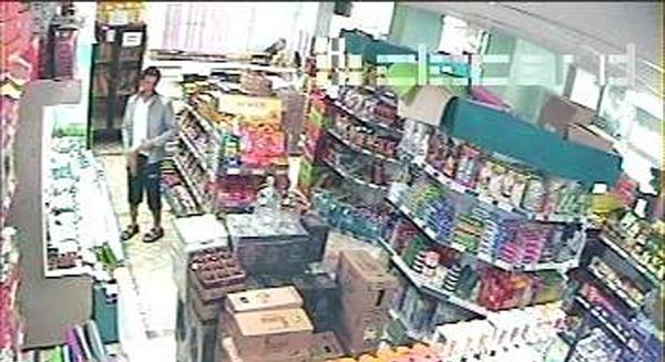 Kavurma hırsızı kameraya yakalandı