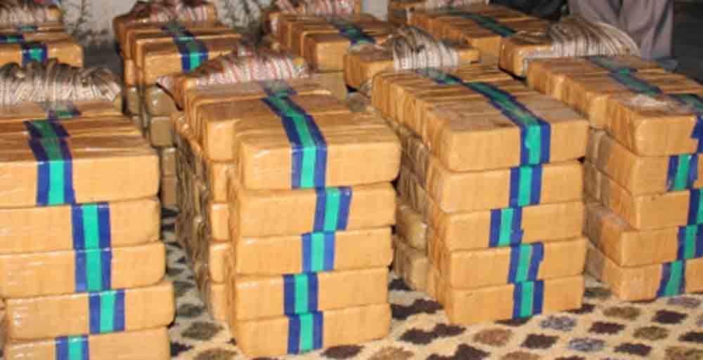 Kocaeli'de 124 Kilogram  eroin operasyonu