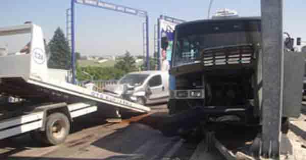 Gebze yolcuları son anda ölümden döndü