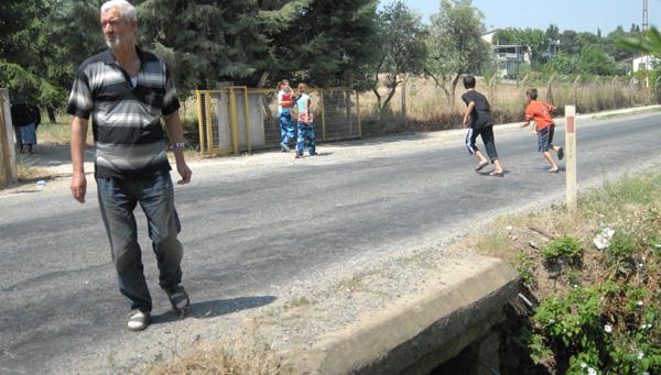 Kanalizasyon suyu göle aktı!