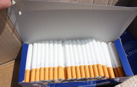 Gebze'de dev sigara operasyonu!