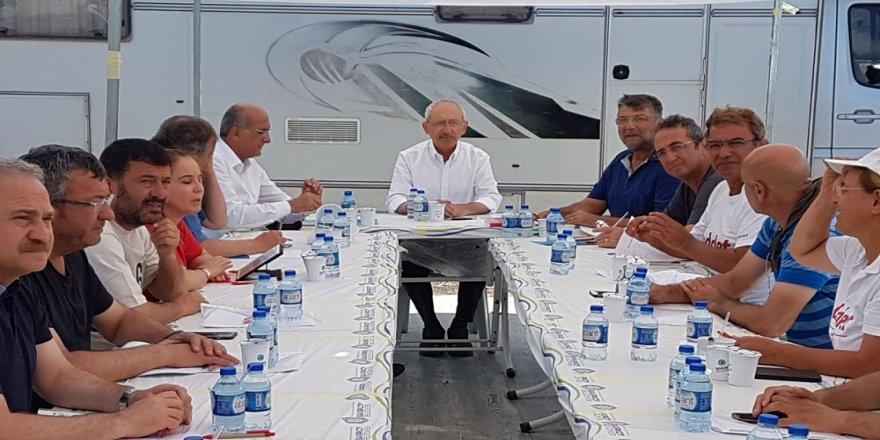 Kılıçdaroğlu, CHP MYK'sını Kocaeli'de topladı