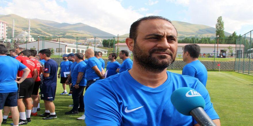 Hasan Şaş Uefa Pro Lisans Kursunda