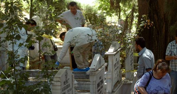Mezarlıkta 3 aylık cenin bulundu!
