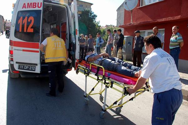 Bilecik'te trafik kazaları: 10 yaralı!