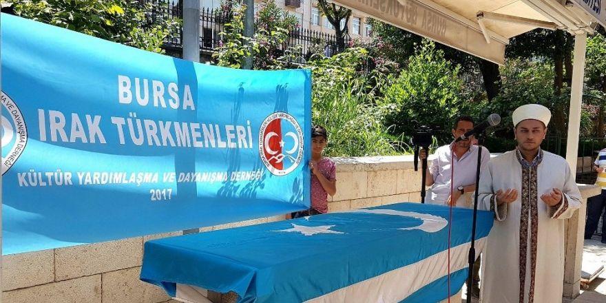 Irak'ta Katledilen Türkmenler İçin Bursa'da Gıyabî Cenaze Namazı