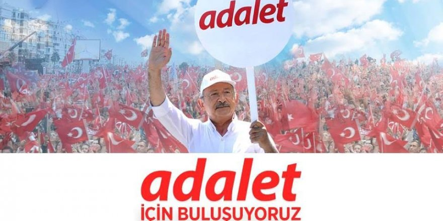 CHP DARICA'DAN ADALET MİTİNGİNE DAVET.