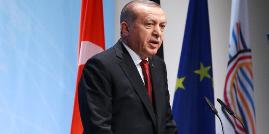 Erdoğan Noktayı Koydu: Kürt Devleti'ne İzin Yok, Afrin'e Dersini Vereceğiz!