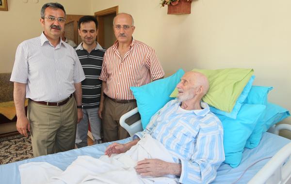 Köşker'den Kazım Amca'ya ziyaret!