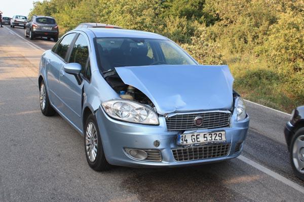Hasköy'de trafik kazası: 8 yaralı!