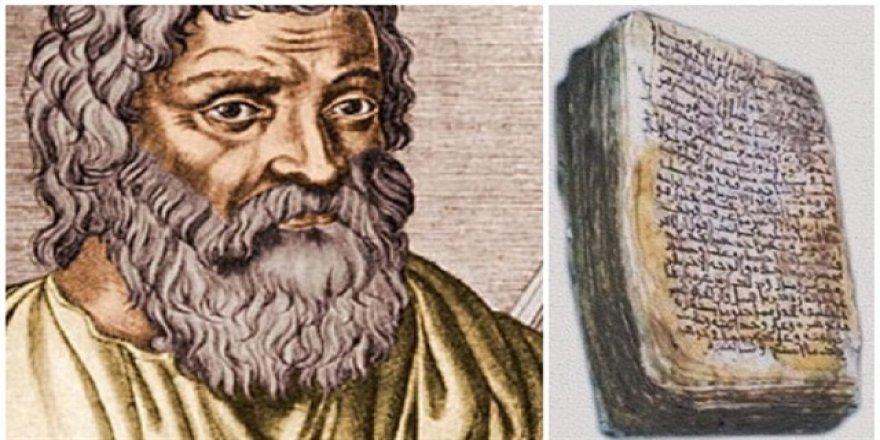 Hipokrat'ın reçetesi bulundu