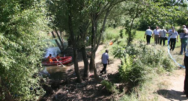 Tunca Nehri'nde boğulan şahsın cesedi bulundu!