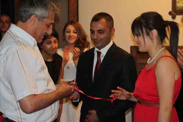 Gazeteci Haluk Turgut nişanlandı