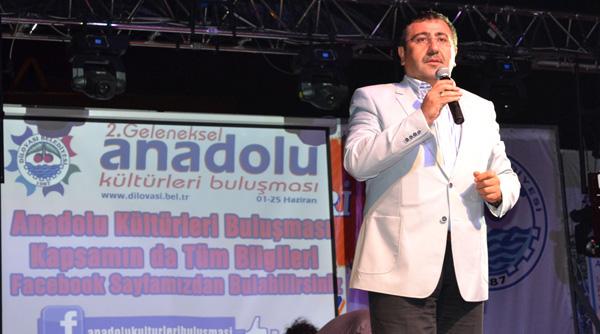 Okur, Anadolu Kültürleri Festivaline katıldı!