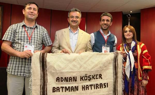 Yerli yabancı folklorcular Köşker'e konuk oldu!