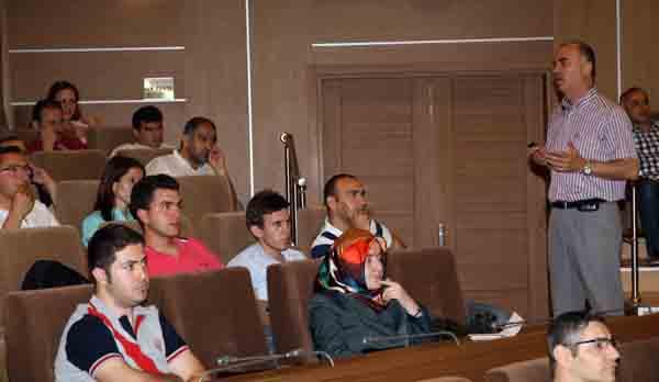 Belediye personeline hizmet içi eğitim semineri!