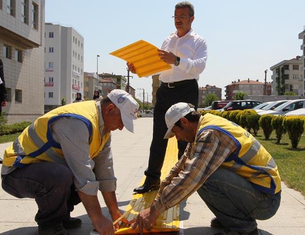 Engellilerin hayatı Gebze'de kolaylaşacak!