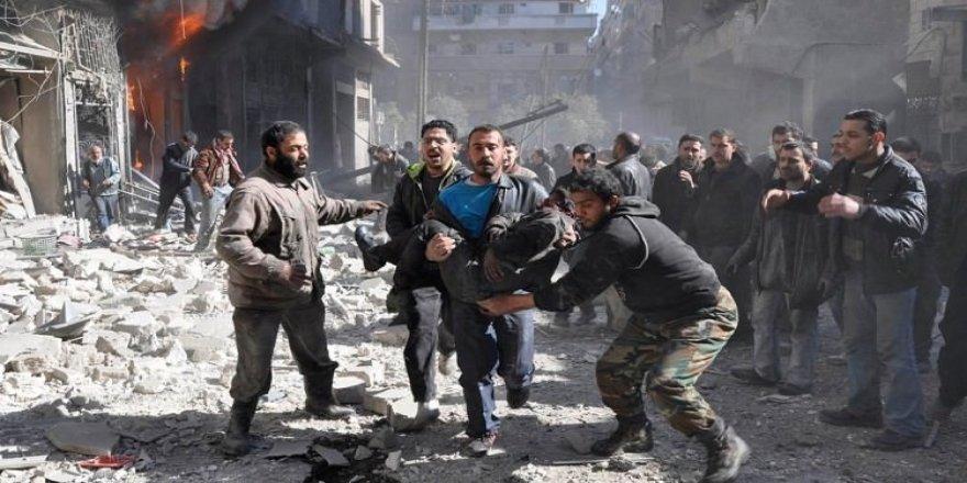 Suriye'de çifte saldırı!