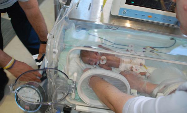 Çorlu Ecrin Nur bebek için seferber oldu!