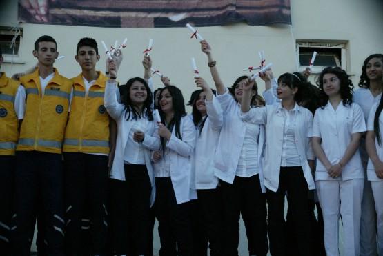 Geleceğin sağlıkçıları mezun oldu!