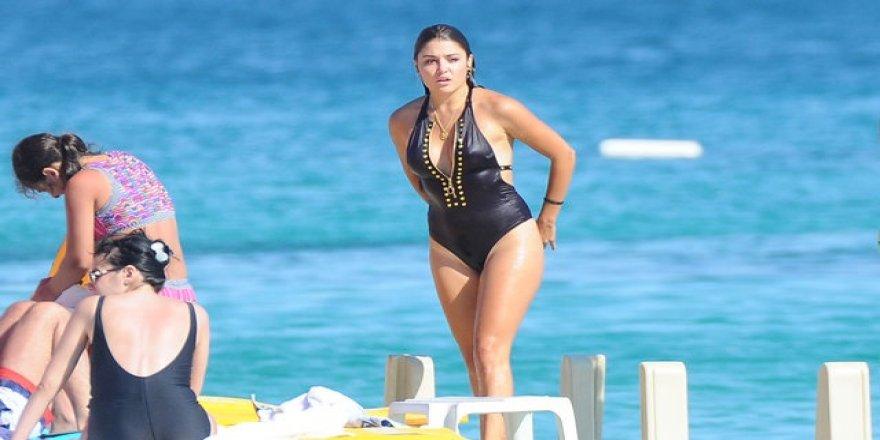 Hande Erçel'in aldığı kilolar dikkat çekti