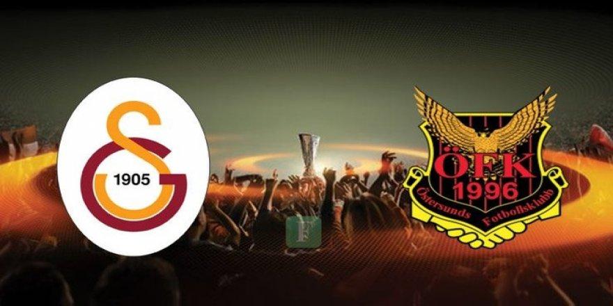 Galatasaray Östersunds maçı canlı anlatım !